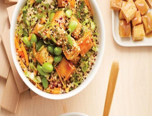 Thai Tofu Quinoa Meal Prep