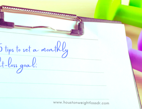 Top 5 Tips To Set A Monthly Weight-Loss Goal