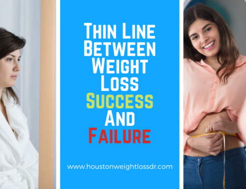 Thin Line Between Weight Loss Success And Failure