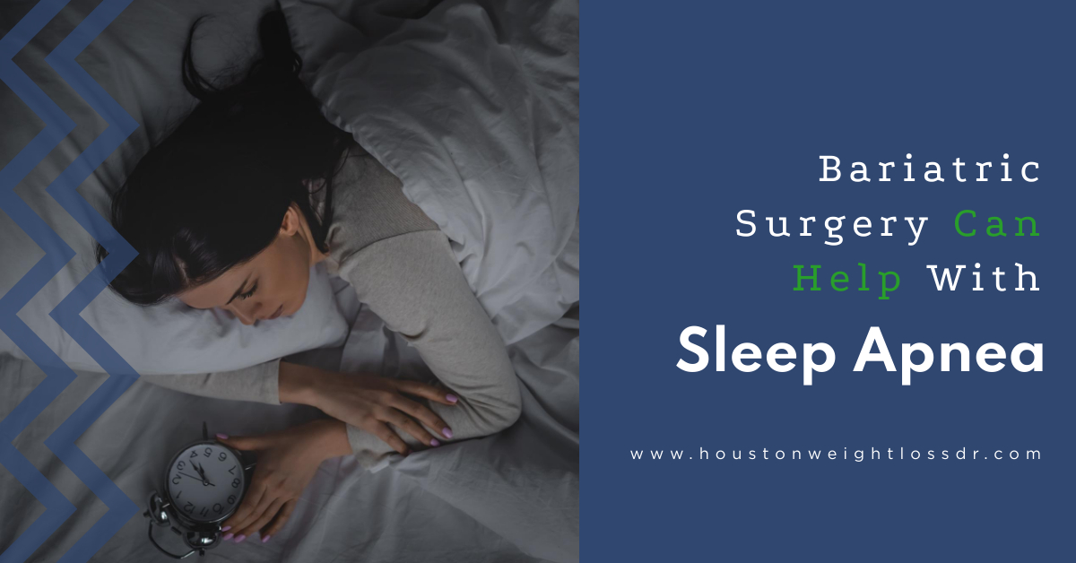 Can Bariatric Surgery Help With Sleep Apnea