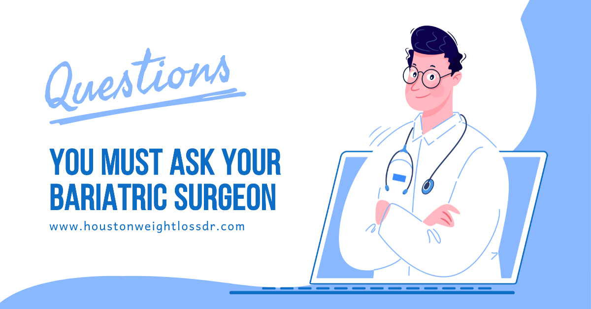 What questions should I ask my bariatric surgeon